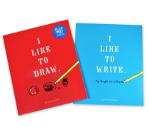 Sarah Neuburger I Like to Draw I Like to Write Chronicle Books Atlanta Illustrator Hand Drawn Activity Book 8