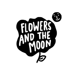 Sarah Neuburger Atlanta Illustrator Hand Drawn Logo Lettering Branding Illustration Flowers Moon 2