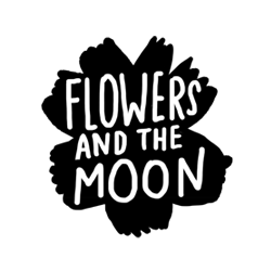 Sarah Neuburger Atlanta Illustrator Hand Drawn Logo Lettering Branding Illustration Flowers Moon 3
