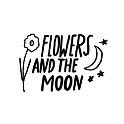 Sarah Neuburger Atlanta Illustrator Hand Drawn Logo Lettering Branding Illustration Flowers Moon 4
