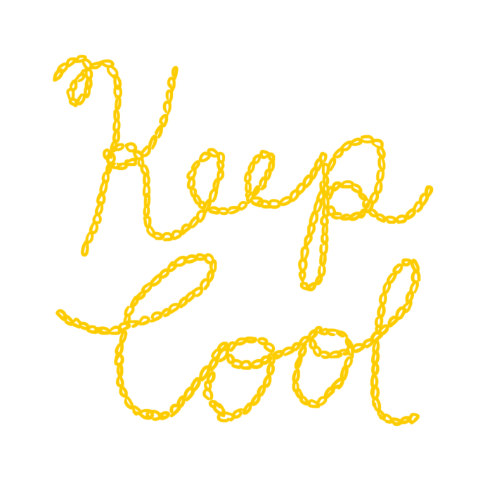 keep cool chain stitch lettering.png