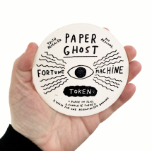 Paper Ghost Fortune Machine by Atlanta based Sarah Neuburger and Mike Lowery