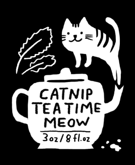catnip tea time sachet