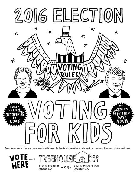 Voting for Kids Poster