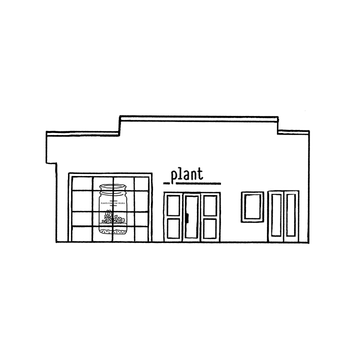 plant store drawing