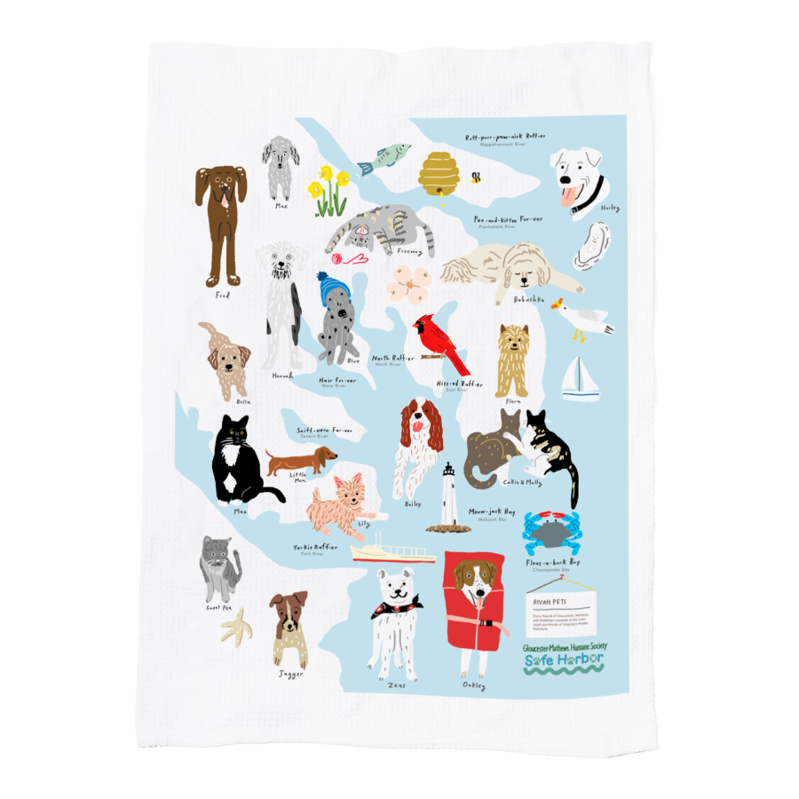 tea towel humane society
