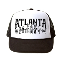 Sarah Neuburger Atlanta Illustrator Freelance Illustration ATL Trucker Hat Fox Ponce City Market Souvenir Treehouse Kid Craft