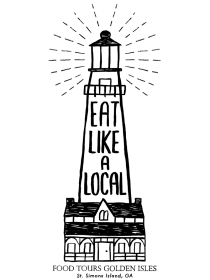 Sarah Neuburger Atlanta Illustrator Lighthouse Drawing St. Simons Island Eat Like A Local Food Tours Georgia