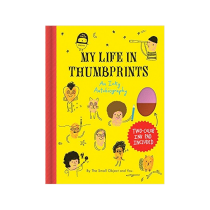 Sarah Neuburger Illustrator Atlanta Author Chronicle Books My Life in Thumbprints