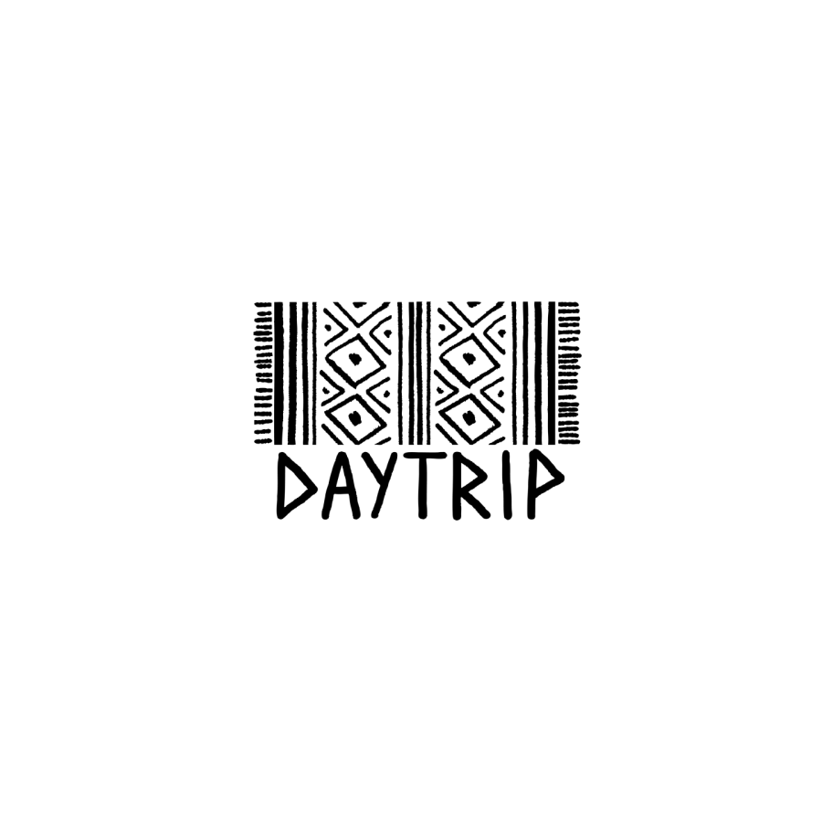 daytrip LOGO and brand mark Sarah neuburger atlanta logo design hand drawn