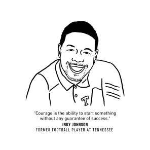 INKY JOHNSON portrait