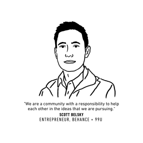 SCOTT BELSKY portrait