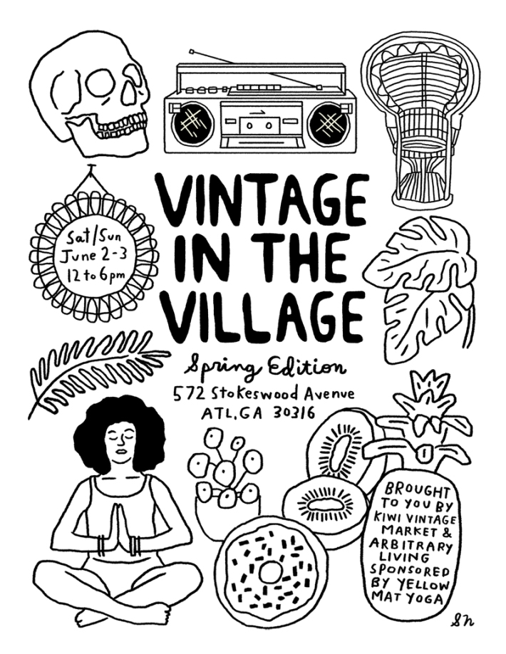 Vintage in the Village Flyer Format